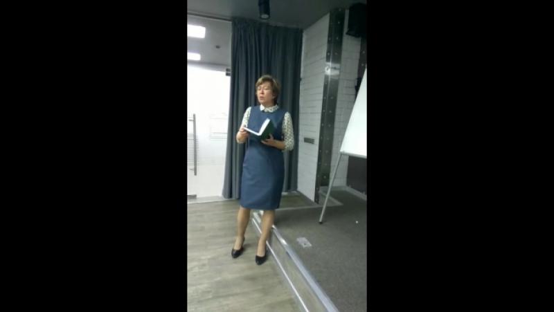 Выступление Е. Карпеевой по копирайтингу