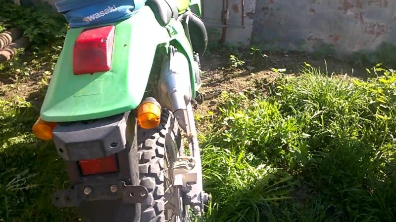 Kawasaki KDX 200 SR