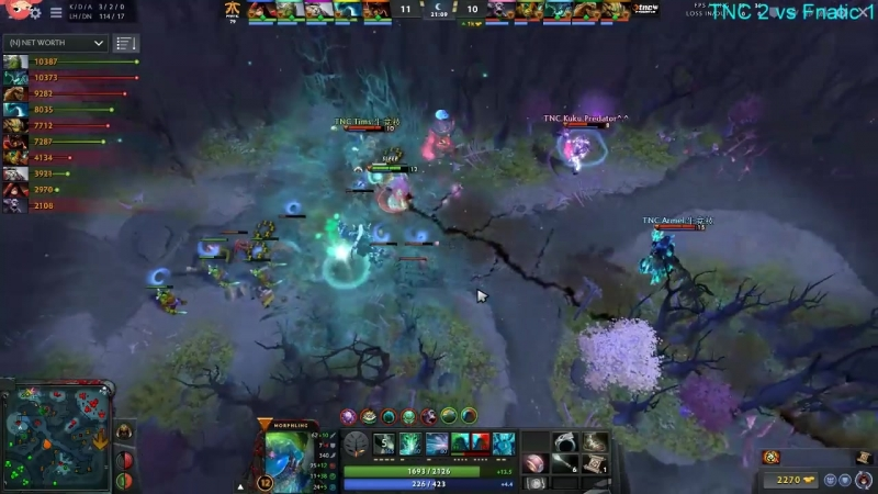 EE goes for a risky 1v2 gank, gets two kills and escapes with clutch ult usage / EE feeds for no reason