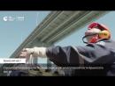 Строители завершили создание свайных фундаментов ж д части Крымского моста