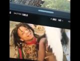 Съемки видеоклипа: DRAM — «Ill Nana» (Feat. Trippie Redd)