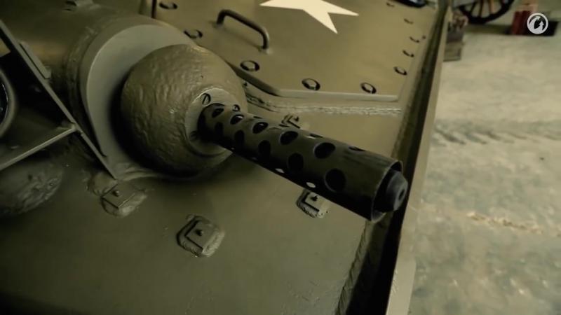 Загляни в реальный танк M24 Чаффи. Часть 1. В командирской рубке [World of Tanks]