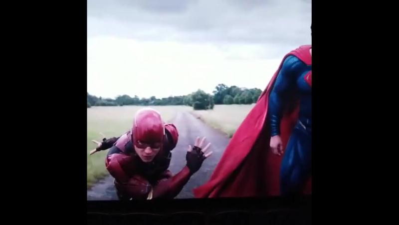 Justice League Flash vs Superman [Bazinga] Лига Справедливости сцена после титров