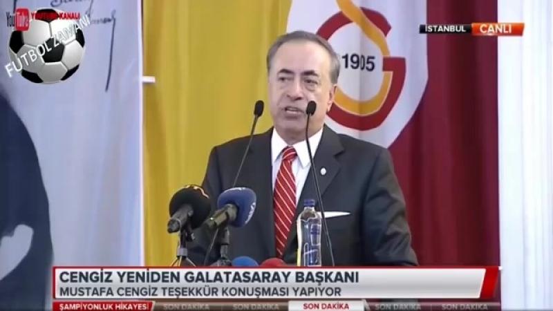 Galatasarayın 38. Başkanı Yeniden Mustafa Cengiz Oldu