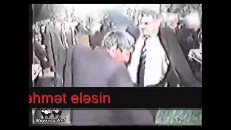 Məşədibaba Aydın Xırdalanlı Vüqar Əbdulov Kərim Mirsadığ toyda rəqs edirlər 2001