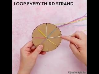 Как связать фенечку