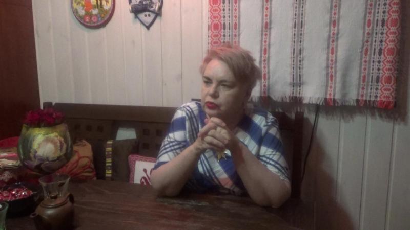 Ольга Сергеевна Соина читает стихи А. Блока (3)