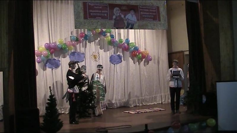 Вепсская сказка Сова и Лиса выступление в Рыбреке