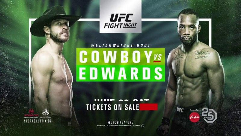 Fight Night Singapore: Cowboy vs Edwards