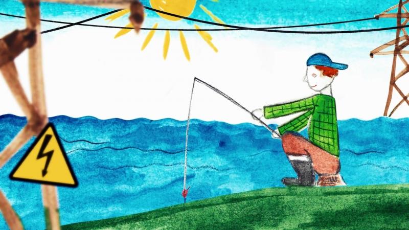 Энергетики предупреждают: рыбалка под линиями электропередачи опасна для жизни!