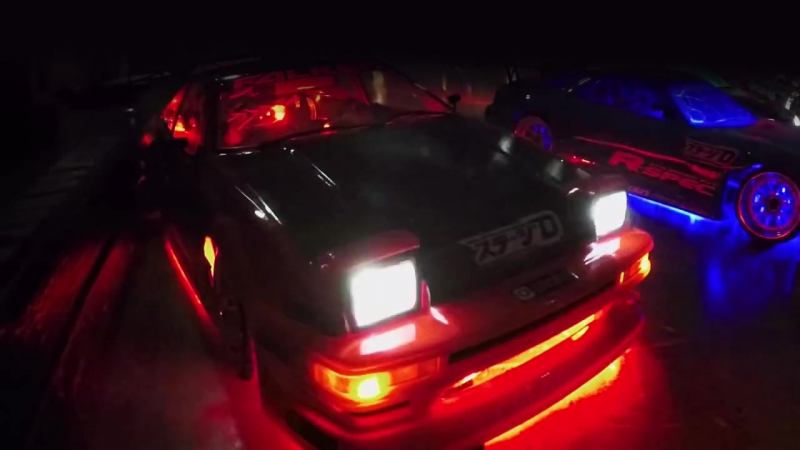 Falken Tire- Ultimate Dark Night RC Drifting