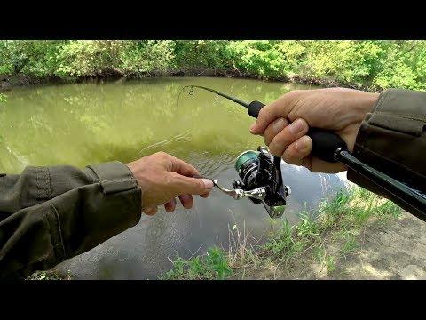 Поставил эту приманку и начало клевать!! Рыбалка на красивой речке.