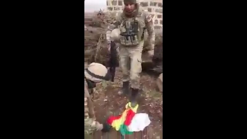 Турецкий спецназ всего за час взял гору Бирсая где многие боевики сдались в плен.