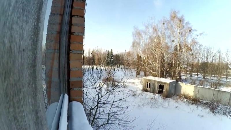 [Nikolay Golovatenko] Пробрались на охраняемый завод , Охрана закрыла в заброшшеном здании , Побег через второй этаж