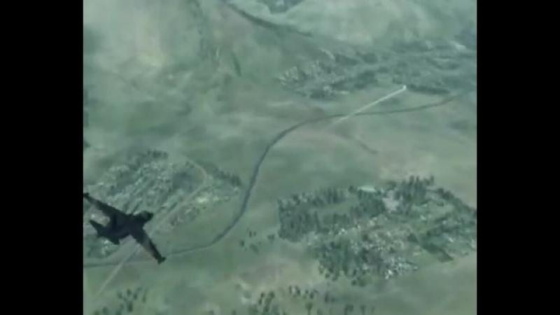 Су 25 Анисимов Грачи прилетели Военным лётчикам посвящается