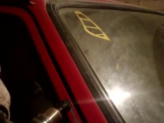 Как удалить двухсторонний скотч с авто