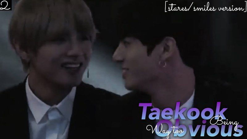 Taekook being way too obvious [2] || Vkook/Taekook