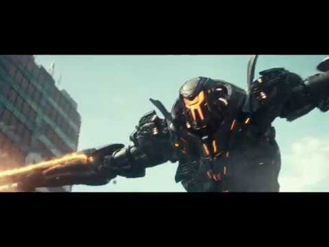 Бродяга (Gipsy Danger) vs Титановая Фурия (Obsidian Fury). Часть 1. Тихоокеанский рубеж 2 (2018)