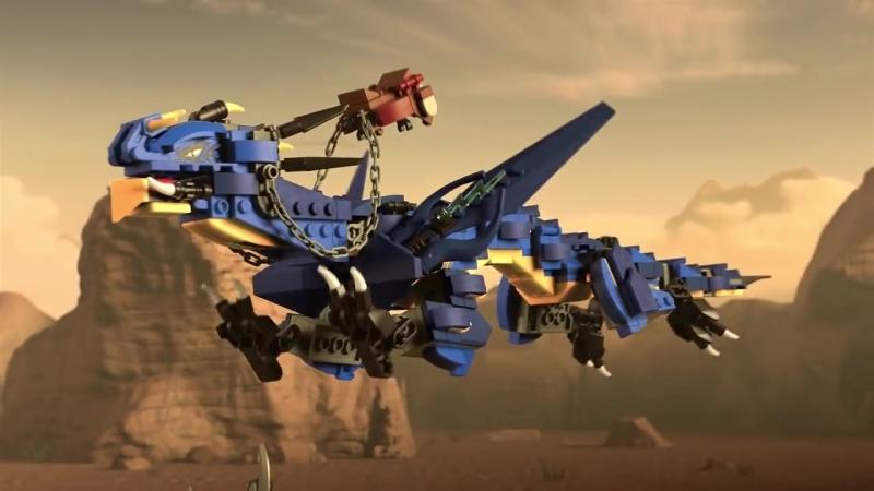 Lightning Dragon Unleashed LEGO NINJAGO 70652
