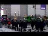 Автобус въехал в подземный переход на западе Москвы