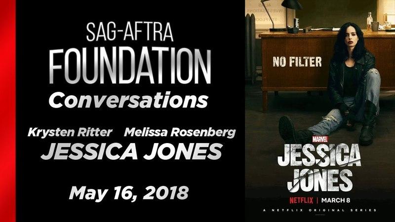 Conversations with Krysten Ritter and Melissa Rosenberg of JESSICA JONES Интервью с Кристен Риттер и Мелиссой Розенберг о сериале Джессика Джонс