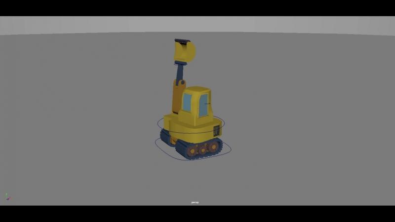 Lil smol excavator kun