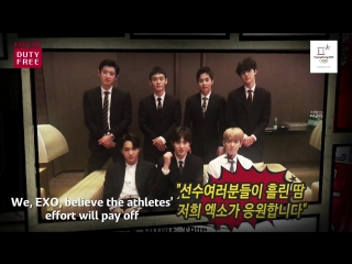 180207 EXO @ LOTTE DUTY FREE - 2018 Winter Olympics Campaign song