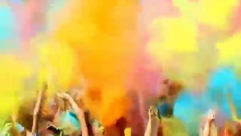 Просто улёт! Фестиваль красок Холли (Ведущий Александр Зизин и Мария Игнатьева)
