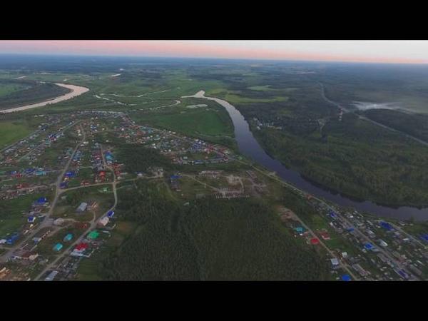 село Ярково с высоты - проект новая высота
