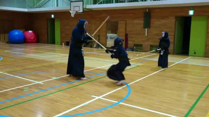 Kendo-Uchikomi geiko 剣道