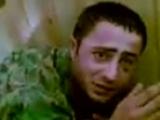 Допрос пленного грузинского солдата. Пятидневная война, август 2008 года