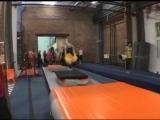Тренировки по акробатике на Выборгской
