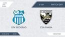 AFL18. Serbia. Super Liga. Day 9. OFK Beograd - CSK-Pivara.