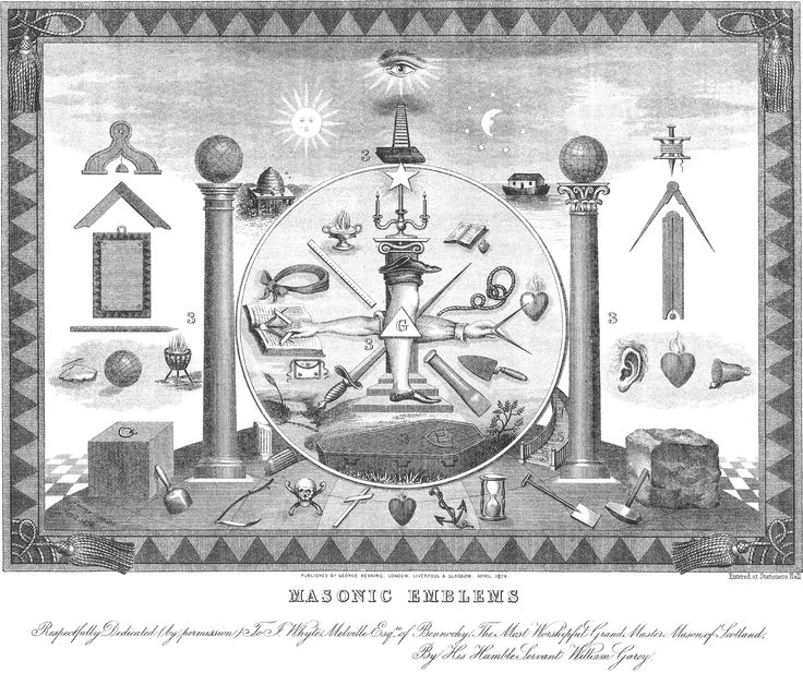 символы масонов