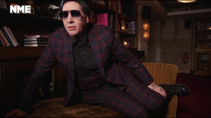 NME's 2017 blooper with Marilyn Manson