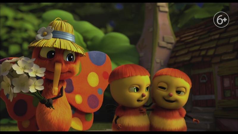 Милейшие букашки в семейной анимации Тайная жизнь Насекомых русский минутный ролик
