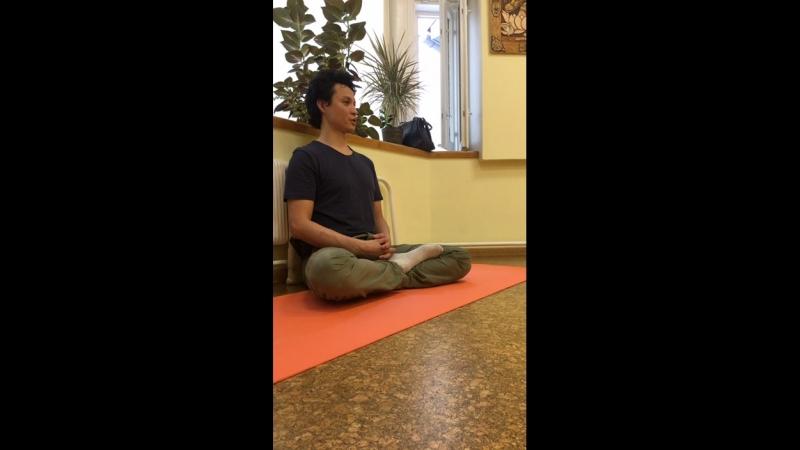 Эффект наблюдения дыхания. Богатство тела. - Йога-салон в Доме йоги 16.06.2018