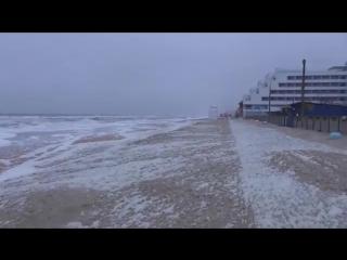 vZatoku.com: Затока. Пена на пляже как снег