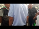 Сбор подписей за отставку губернатора на митинге. Димитровград, 040718