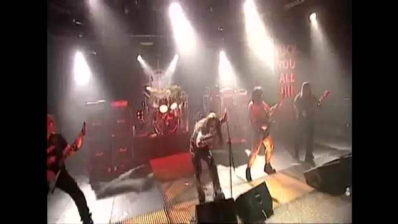 Carpathian Forest Were Going To Hollywood For This Live Perversions Krakow 2004