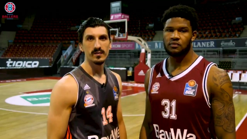 Der @fcb_basketball gründet mit den @BayernBallers ein eigenes eSports-Team und @DevinBooker31 @NihadDjedovic wollen, dass