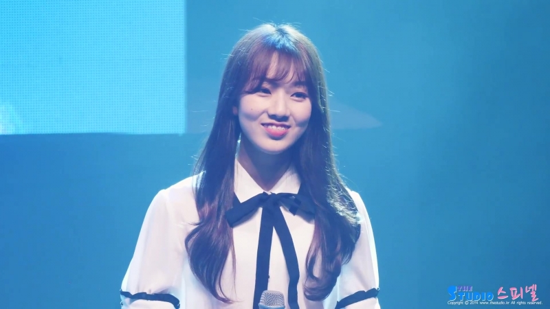 180617 iMe girls (아이엠이걸즈) 김지현 - Rain 4K 직캠 @ DreamNote 쇼케이스 by Spinel | Jihyun