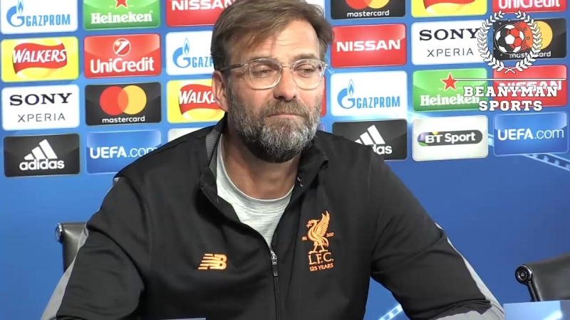 Jurgen Klopp Full Pre Match Press Conference Manchester City v Liverpool Champions League