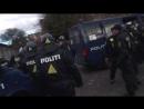 Стычка полиции и мигрантов в Орхусе Борода Викинга