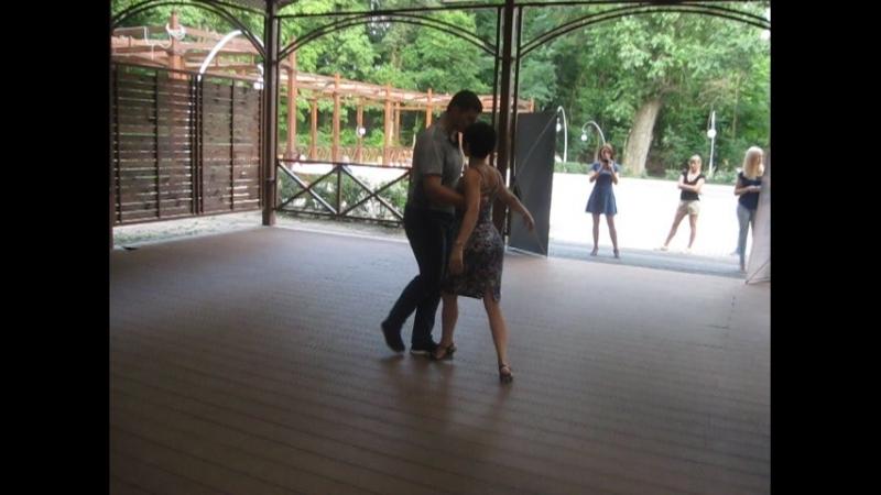 Арг танго Знакомые тангерос Грустная мелодия и ВСЕПОГЛОЩАЮЩАЯ НЕЖНОСТЬ