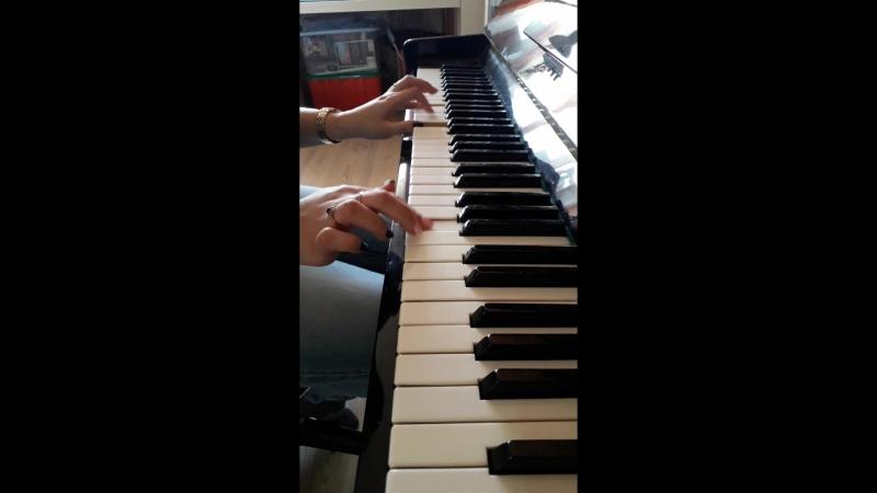 Пианистам не смотреть) как научилась так и получилось