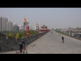 Xian, China_ City Walls Goose Pagodas