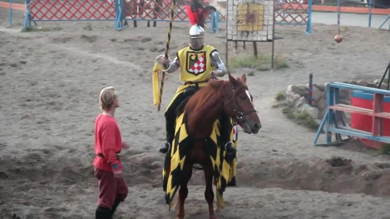 Рыцарский турнир в замке Нессельбек