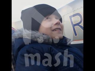 Пилот из Калининграда исполнил желание смертельно больного ребёнка