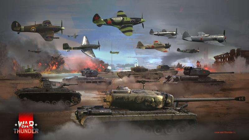 Live Stream for WarThunder! ночные бомбовые полёты РБ!